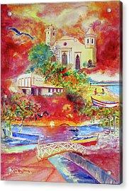Tour Around Aguadilla Puerto Rico Acrylic Print by Estela Robles