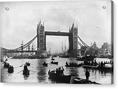 Tower Bridge Acrylic Print by Francis Frith & Co