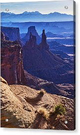 Tower Sunrise Acrylic Print by Chad Dutson