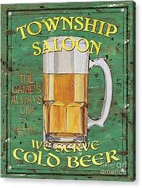 Township Saloon Acrylic Print by Debbie DeWitt