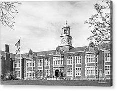 Towson University Stephens Hall Acrylic Print by University Icons