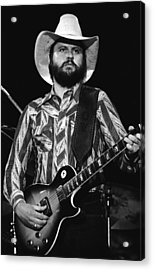 Toy Caldwell Live Acrylic Print by Ben Upham
