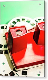 Toy Photo Film Viewer  Acrylic Print by Jorgo Photography - Wall Art Gallery