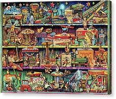 Toy Wonderama Acrylic Print by Aimee Stewart