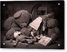 Toys Acrylic Print by Tom Mc Nemar