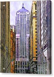Trading Places Acrylic Print by John Robert Beck