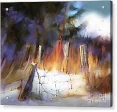 Trail's End Acrylic Print by Bob Salo