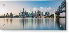 Tranquil Sydney Mornings Acrylic Print by Az Jackson