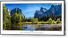 Tranquil Valley Poster Print Acrylic Print by Az Jackson