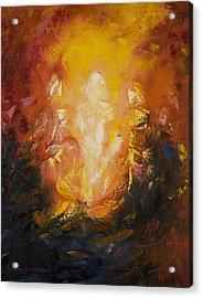 Transfiguration Acrylic Print by Lewis Bowman