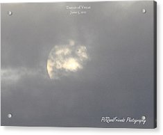 Transit Of Venus Acrylic Print by PJQandFriends Photography