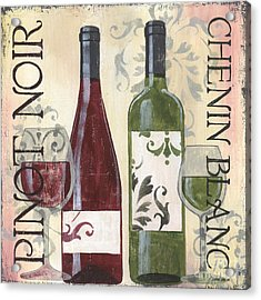 Transitional Wine 1 Acrylic Print by Debbie DeWitt