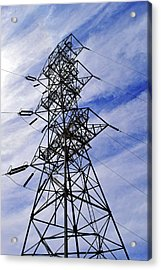 Transmission Tower No. 1 Acrylic Print by Sandy Taylor