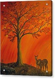 Treasure Tree Acrylic Print by John Reid