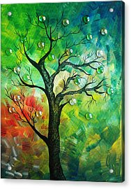 Tree Fantasy Acrylic Print by Ramneek Narang