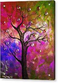 Tree Fantasy2 Acrylic Print by Ramneek Narang