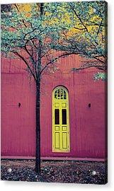 Tree House Acrylic Print by Cho Me