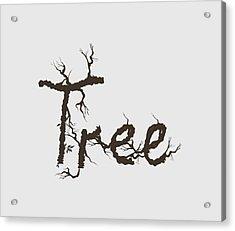 Tree Acrylic Print by Martina Fagan