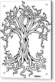 Tree Of Life Acrylic Print by John Benko