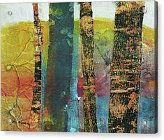 Trees Acrylic Print by Melody Cleary
