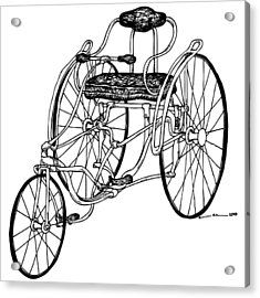 Tri Bike Acrylic Print by Karl Addison
