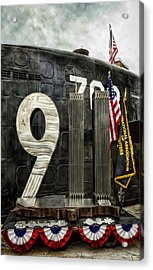 Tribute 911 Acrylic Print by Peter Chilelli