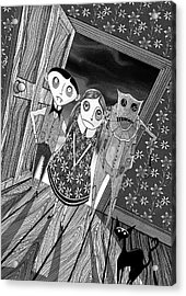 Trick Or Treat  Acrylic Print by Andrew Hitchen