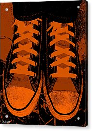 Trick Or Treat Feet Acrylic Print by Ed Smith