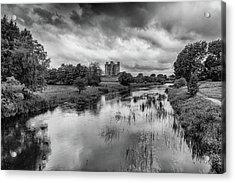 Trim Castle And The River Boyne Acrylic Print by Martina Fagan