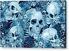 Tropic Halloween Acrylic Print by Mark Ashkenazi