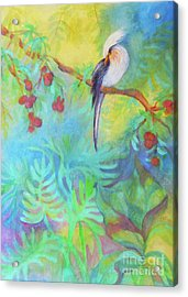 Tropical Afternoon Acrylic Print by Sharon Nelson-Bianco