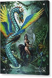 Tropical Temptress Acrylic Print by Stanley Morrison