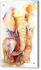 True Love Acrylic Print by Arti Chauhan