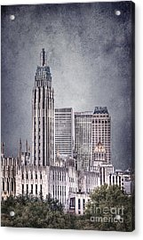 Tulsa Art Deco II Acrylic Print by Tamyra Ayles
