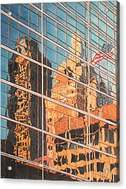 Tulsa Relections 2 Acrylic Print by Kenny King