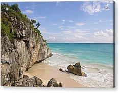 Tulum, Riviera Maya Acrylic Print by Fabian Jurado's Photography.