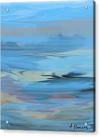 Turbulence Acrylic Print by D Perry