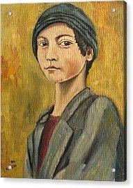 Turkish Boy Acrylic Print by John Keaton