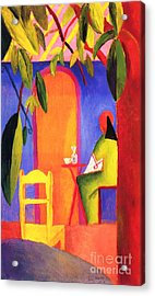 Turkish Cafe II Acrylic Print by Pg Reproductions