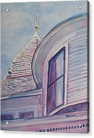 Turret And Copula  Acrylic Print by Jenny Armitage