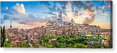 Tuscan Romance  Acrylic Print by JR Photography