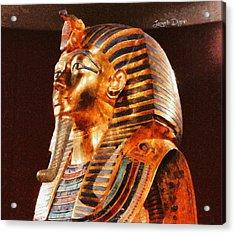 Tutankhamun Golden Mask Acrylic Print by Leonardo Digenio