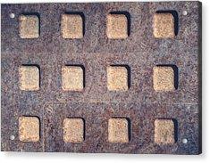 Twelve Squares Acrylic Print by Scott Norris