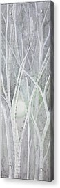 Twilight In Gray II Acrylic Print by Shadia Derbyshire