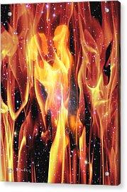 Twin Flames Acrylic Print by Dedric Artlove