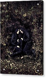 Twins Acrylic Print by Cambion Art