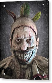Twisty The Clown Acrylic Print by Taylan Soyturk