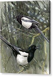 Two For Joy Acrylic Print by Chris Pendleton