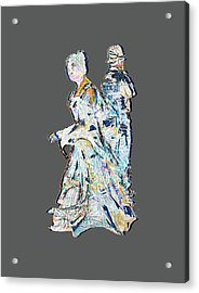 Two Minds In Seperate Worlds Acrylic Print by John Groves