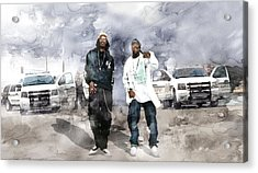 Two Of Americas Most Wanted Acrylic Print by Jani Heinonen